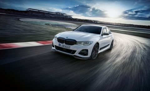 2019 BMW 3-series with M Performance parts