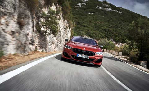2019 BMW 8-series Coupe Is a Grand Tourer