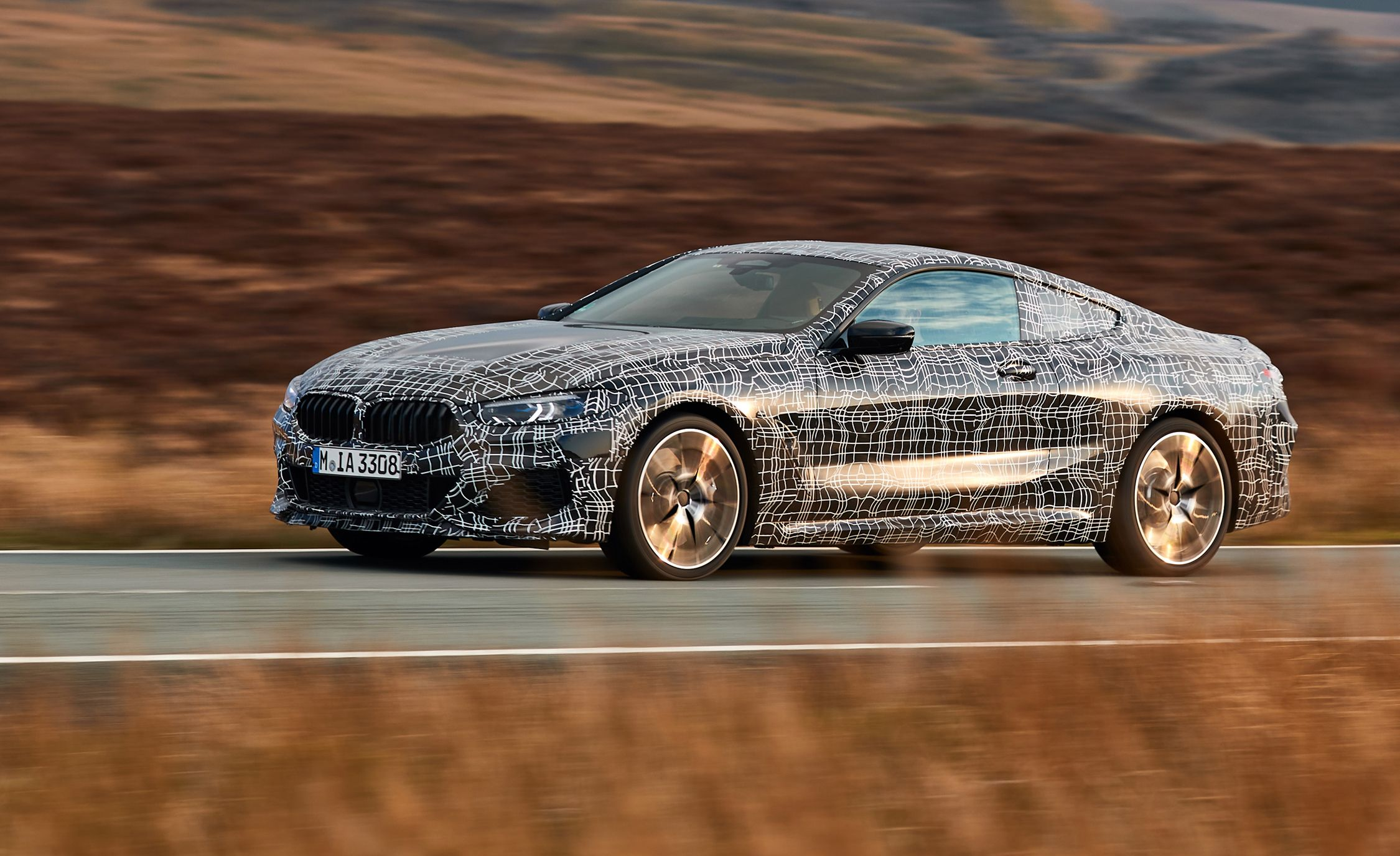 2019 Bmw 8 Series Prototype Drive Outlook Promising Review Car And Driver