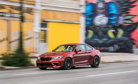 2019 Bmw M2 Competition Is Quickest With A Manual Gearbox