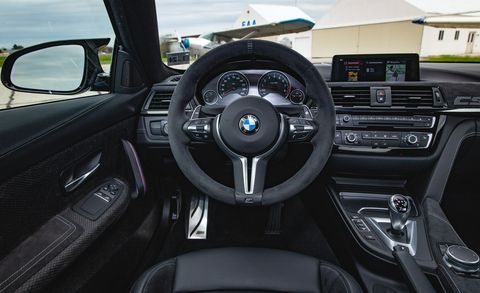 Land vehicle, Vehicle, Car, Steering wheel, Personal luxury car, Steering part, Center console, Luxury vehicle, Bmw, Gear shift,
