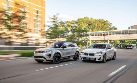 2019 BMW X2 M35i vs. 2020 Range Rover Evoque P300 R-Dynamic HSE