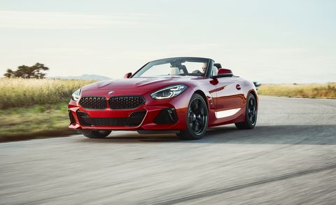 2019 Bmw Z4 Revealed Z4 Roadster Photos Engines Specs