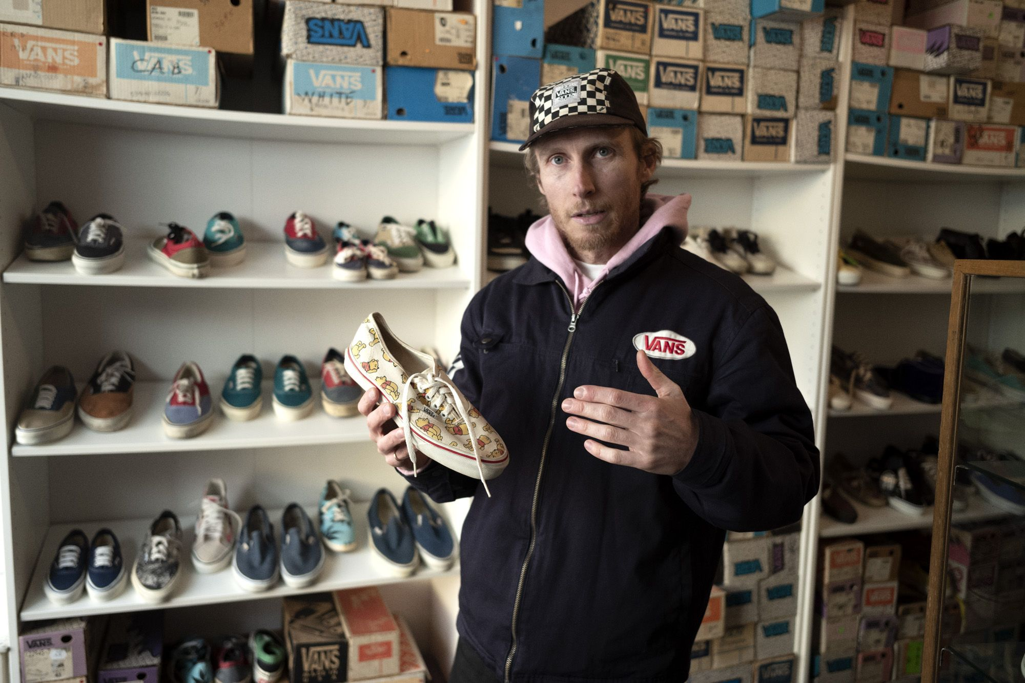 The Man On A Mission To Collect Every Pair Of Vans Ever Made