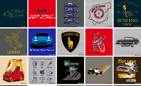 Blipshift Brings Back 25 Classic T-Shirt Designs for a Limited Time