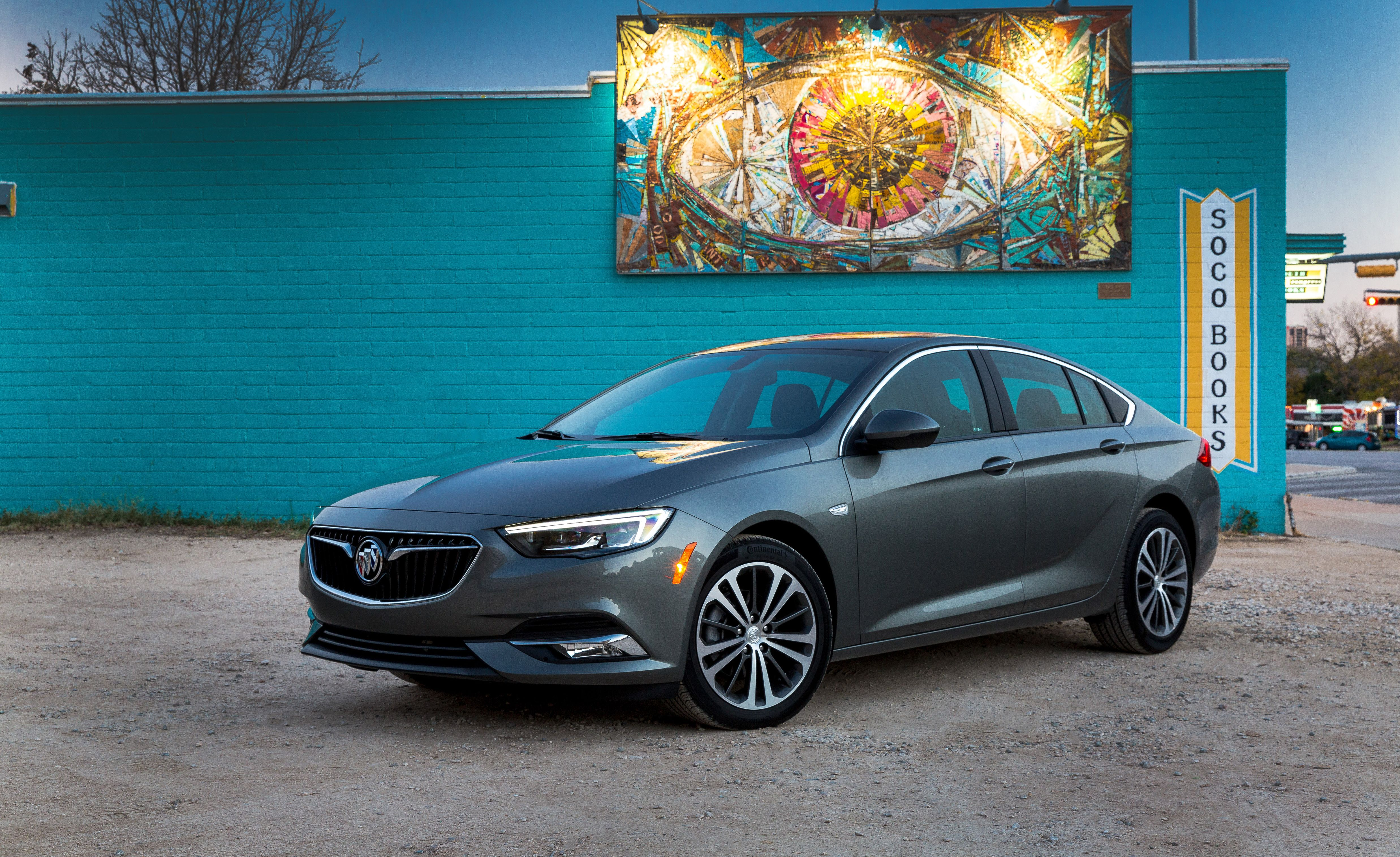 20. Buick Regal Sportback We've placed the regular Buick Regal Sportback above its more powerful GS sibling in our rankings because it is just as attractive and roomy (and nearly as quick!) and costs less money. The Regals both suffer from interiors that feel built to a price.