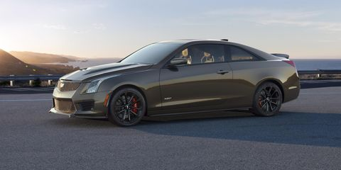 Cadillac V Series >> Cadillac S V Series Anniversary Gift Is This Extremely Brown Paint Color