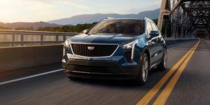 2020 Cadillac XT4 driving