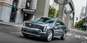 2019 Cadillac XT4 driving shot
