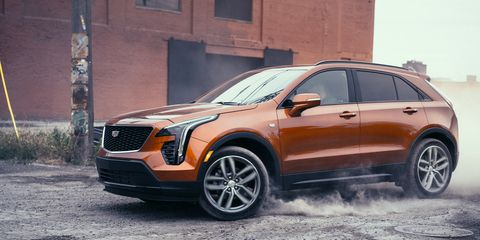 2019 Cadillac Xt4 Photos And Info News Car And Driver