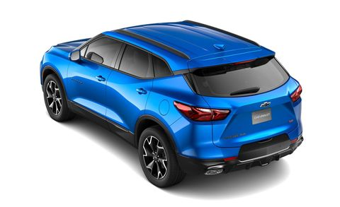 2019 Chevrolet Blazer SUV – Trim Levels, Pricing, Build ...