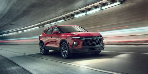 """2019 Chevrolet Blazer: The """"Blazer"""" Is Back! - Official Photos and Info - Gallery"""