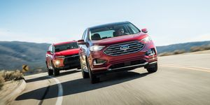2019 Chevrolet Blazer vs Ford Edge