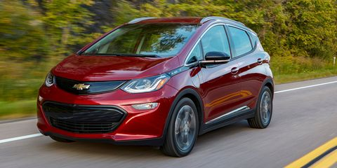 Chevrolet Bolt EVs Are Really Cheap to Lease Right Now