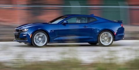 2019 Chevrolet Camaro Ss Automatic Highly Modern Hot Rod