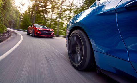 2019 Chevrolet Camaro vs. 2019 Ford Mustang – SS 1LE vs ...