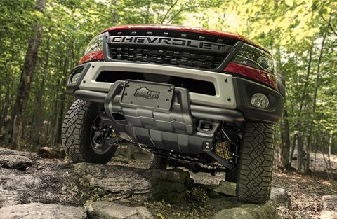 2019 Chevy Colorado Zr2 Bison Aev Modified Chevy Pickup Truck