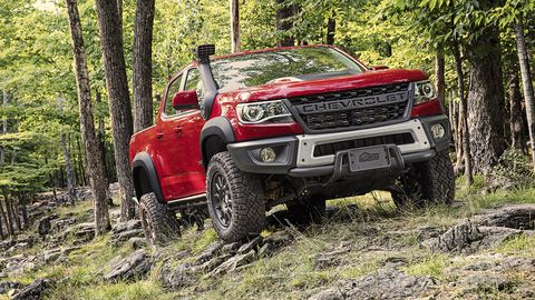 The Chevy Colorado ZR2 Bison Is a Beefy Factory-Built Off ...