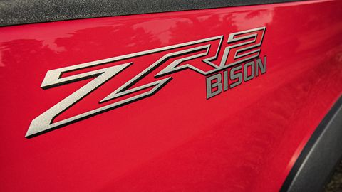 Chevy Colorado Accessories >> The Chevy Colorado ZR2 Bison Is a Beefy Factory-Built Off ...