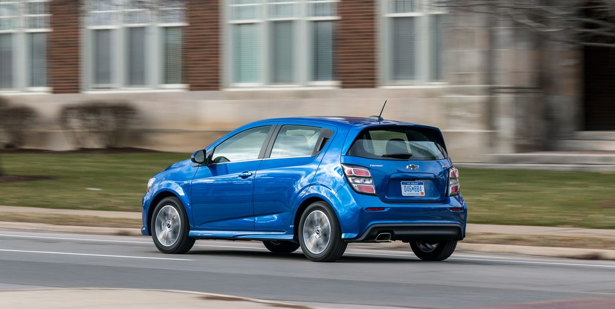 2019 Chevrolet Sonic Hatchback – Good Small Car, Mediocre ...
