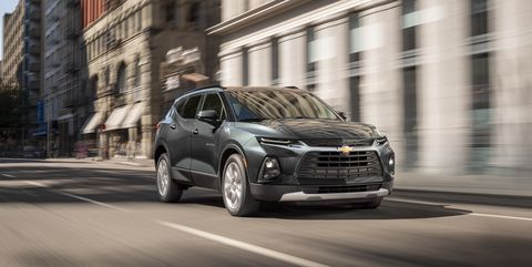 2020 Chevy Blazer Adds Turbo 2 0l Four Cylinder Starting At
