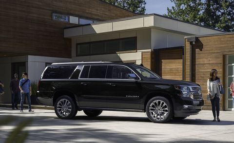 2019 Chevrolet Tahoe and Suburban Premier Plu