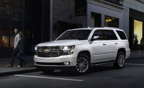 2019 Chevrolet Suburban and Tahoe Premier Plus Pack a 6.2 ...