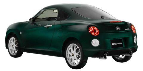 Land vehicle, Vehicle, Car, Motor vehicle, Coupé, Automotive design, Luxury vehicle, Automotive lighting, City car, Hardtop,