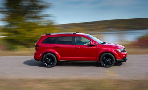 Land vehicle, Vehicle, Car, Sport utility vehicle, Compact sport utility vehicle, Mini SUV, Automotive design, Dodge journey, Crossover suv, Family car,
