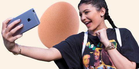 Kylie Jenner + Egg