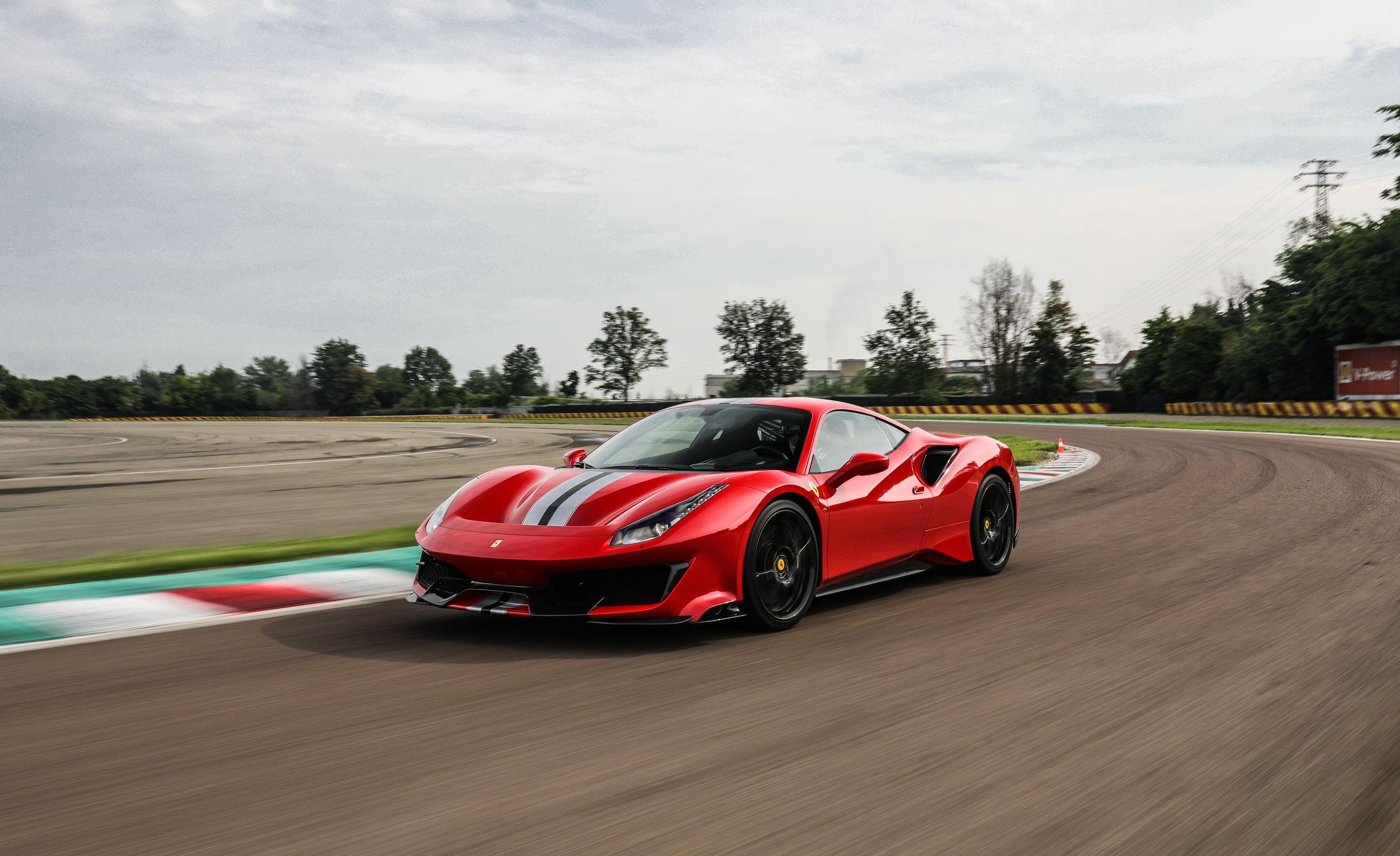 2019 Ferrari 488 Pista Makes Crazy Sort Of Safe