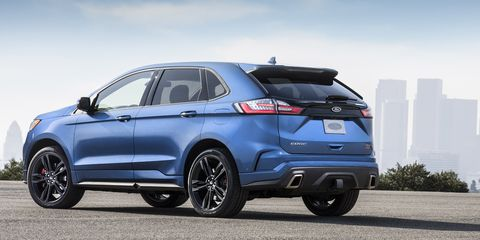 2019 Ford Edge St Revealed New Ford Edge St Specs