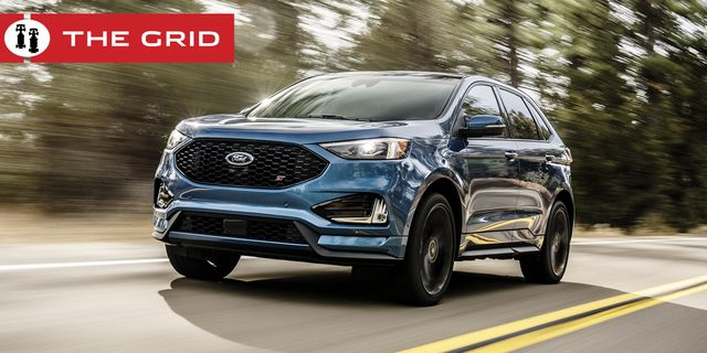 edge st features superior handling and braking, st tuned sport suspension, sport mode, new quick shifting 8 speed transmission, standard all wheel drive, and the most powerful v6 engine in its class