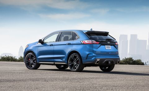 2019 Ford Edge St Pricing New High Performance Crossover Starts At