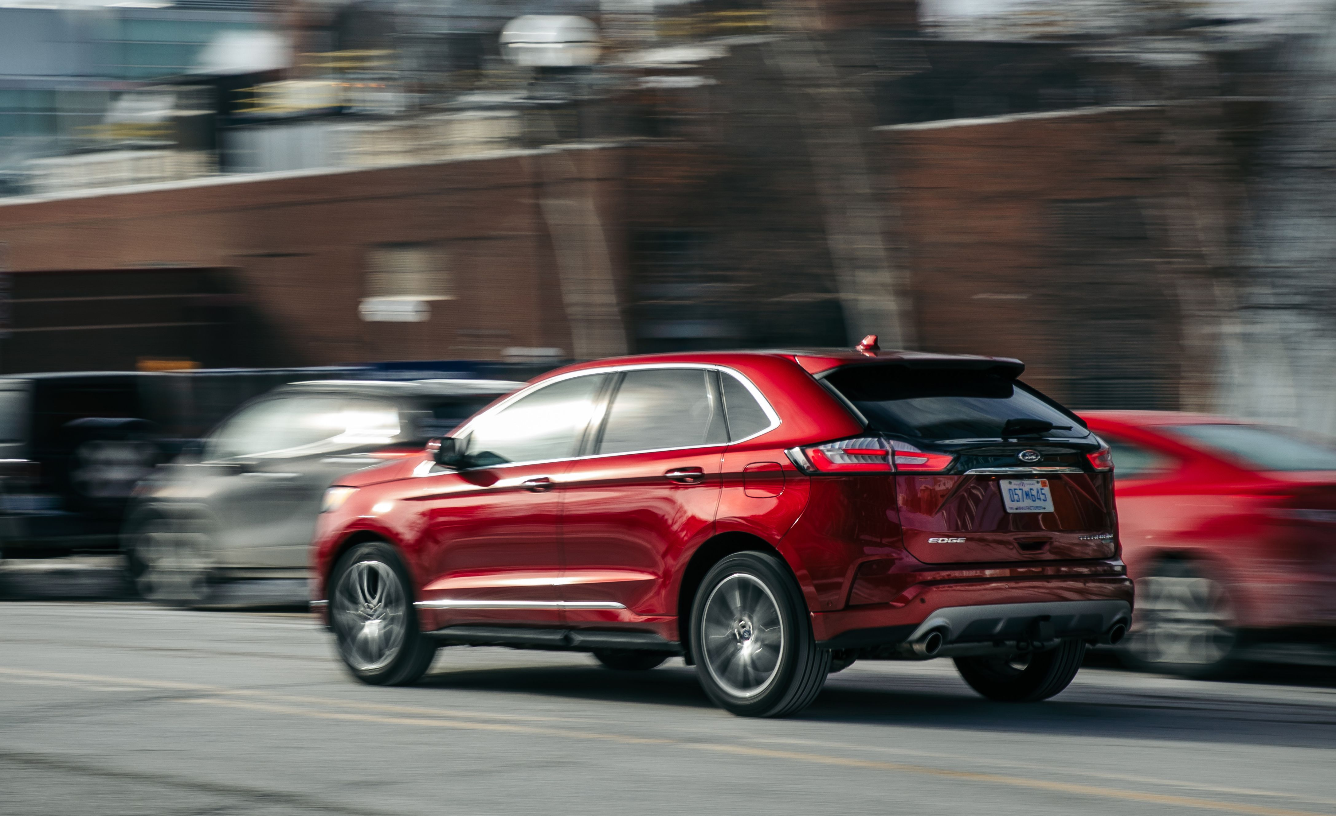 The  Ford Edge Remains A Solid Two Row Option Among Mid Size Suvs