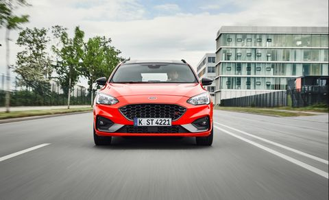 2019 Ford Focus ST Wagon (Euro-spec)
