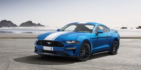 Ford Mustang Ecoboost >> Ford Mustang Entry Level Performance Model New Ecoboost Version