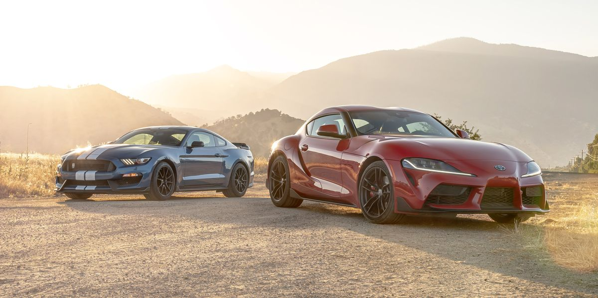 toyota gr supra   ford mustang shelby gt     drivers machine