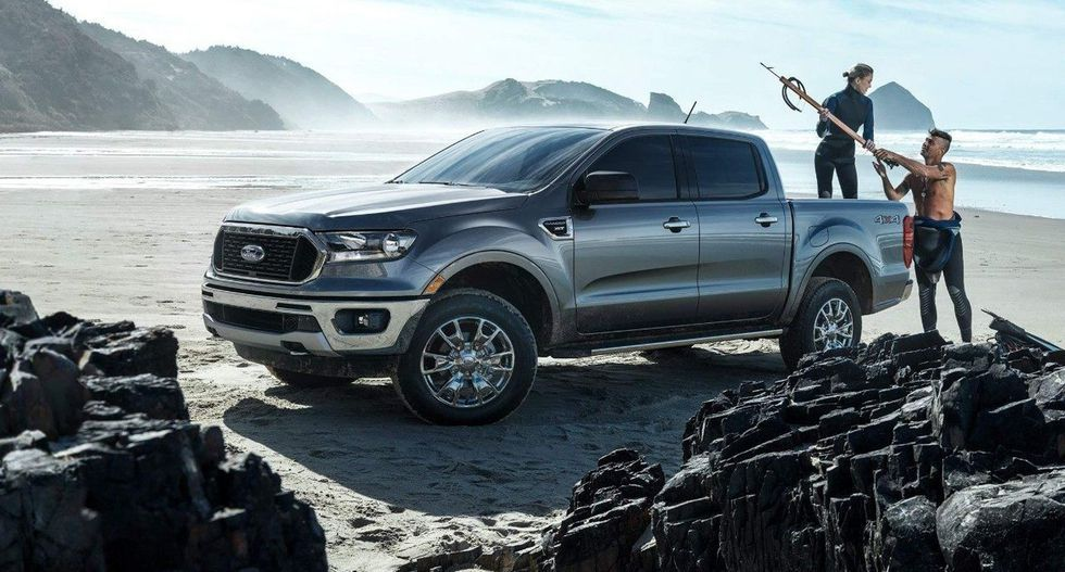 2019 Ford Ranger Mpg Most Efficient Pickup In Its Class