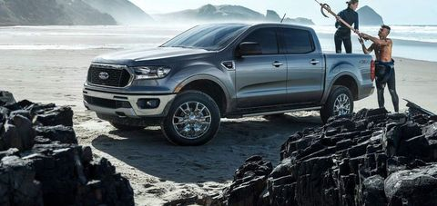 Next Generation 2022 Ford Ranger Pickup Leaked