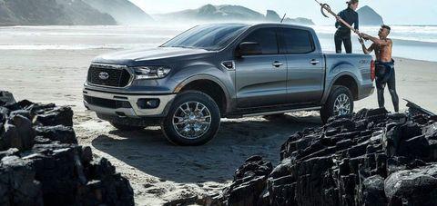 Next-Generation 2022 Ford Ranger Pickup Leaked