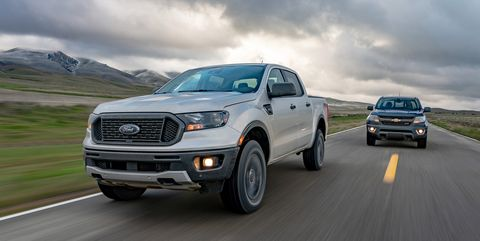 Photos Of Our Battle Between The Ford Ranger Vs Jeep Gladiator