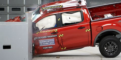 The 2019 Ford Ranger Scores Well in IIHS Crash Testing, but Not Higher Than the Toyota Tacoma