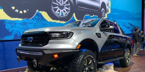 Modified 2019 Ford Rangers