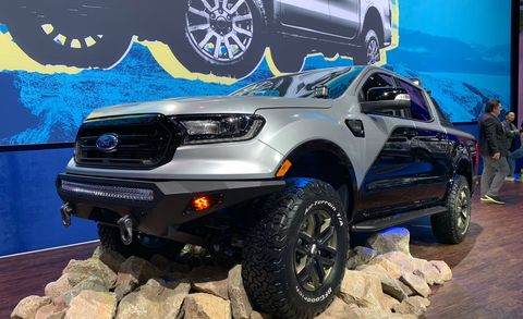 Seven Modified 2019 Ford Rangers Debut At Sema