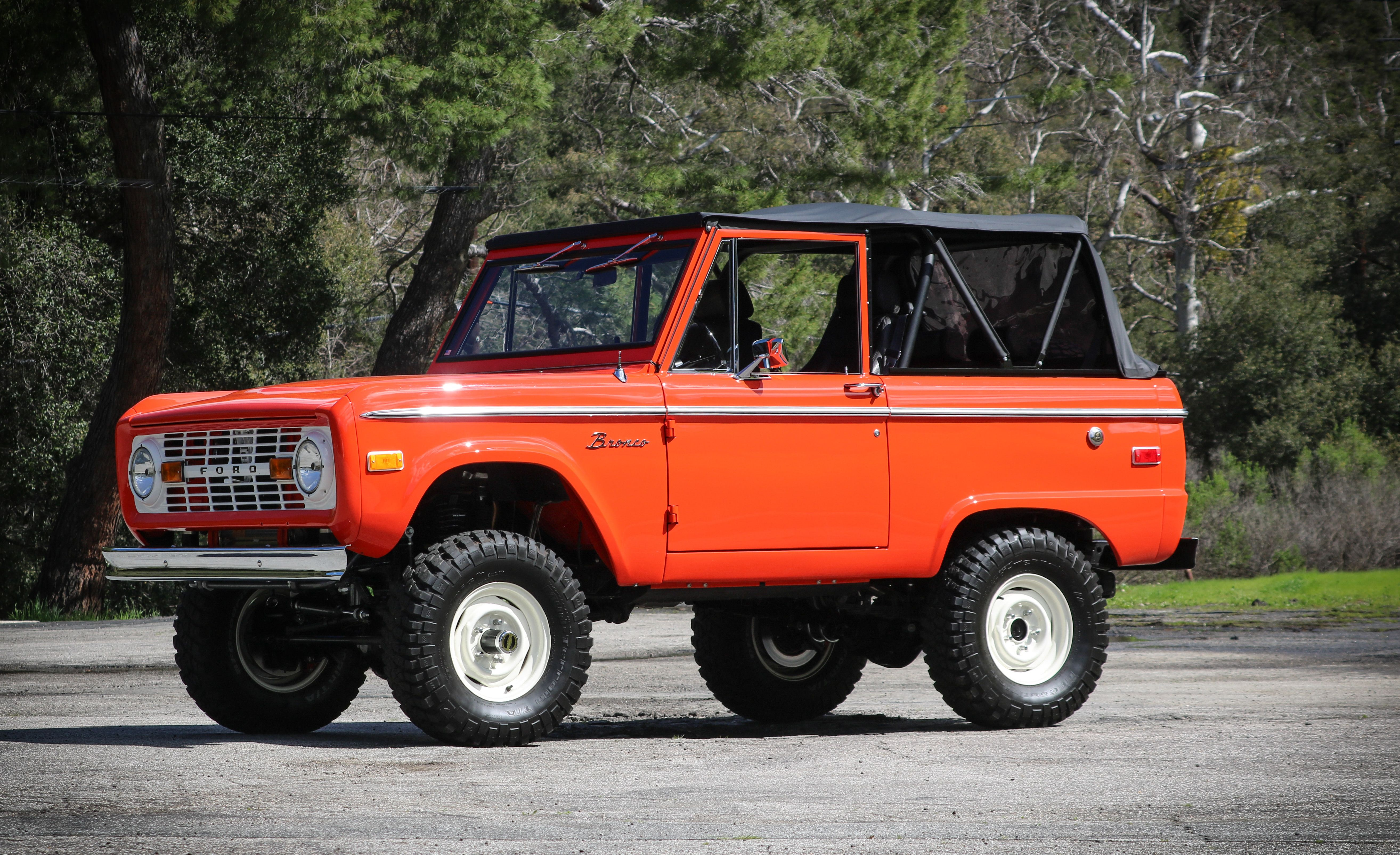 2019 Gateway Ford Bronco Is A Custom Rig Even A Purist Could Love