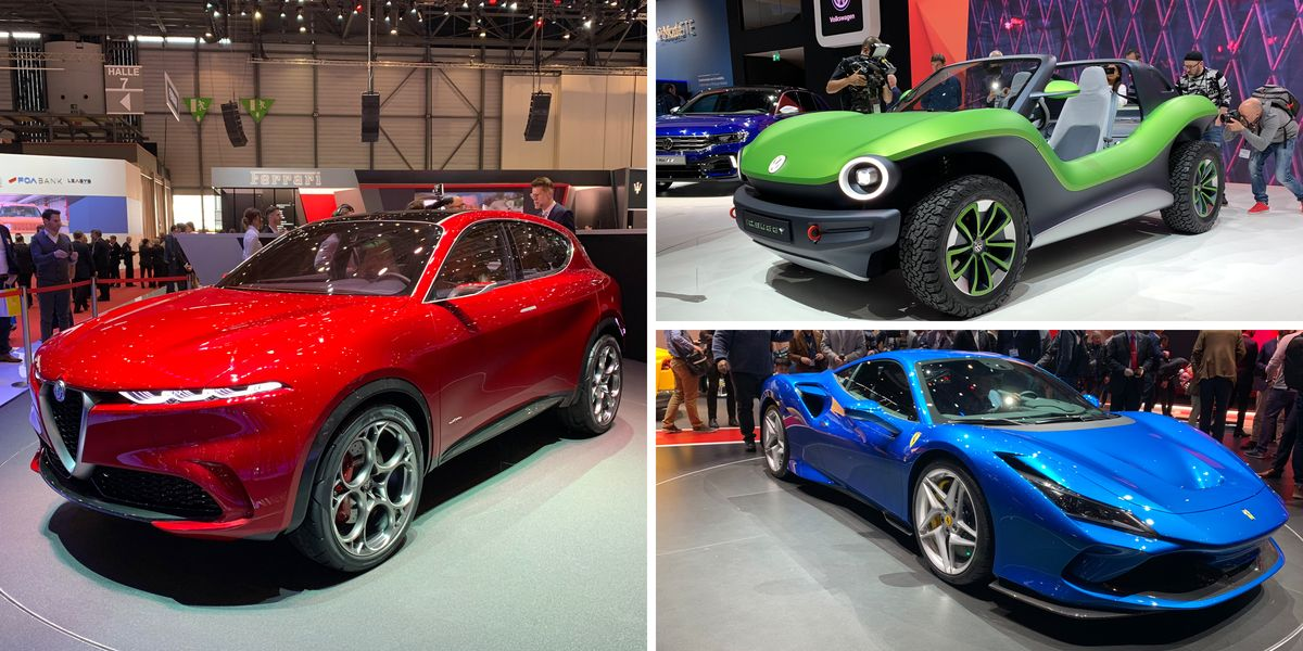 2019 Geneva Auto Show Must-See New-Car Debuts and Wildest ...