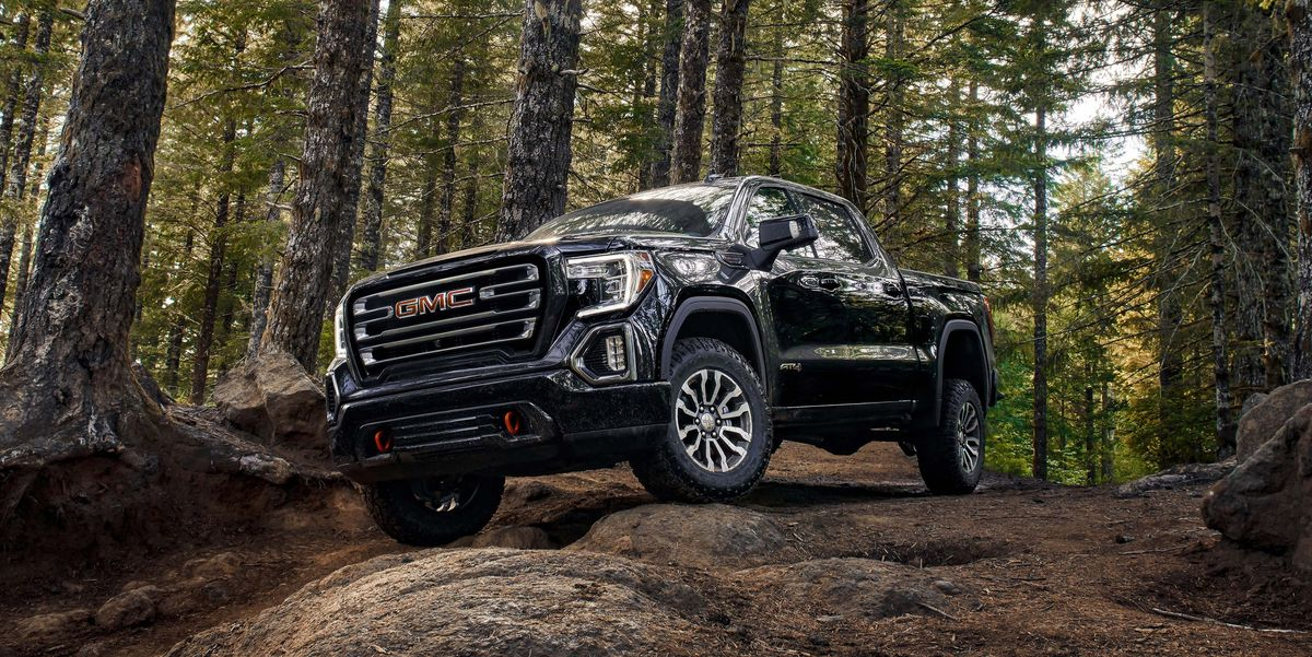 Uber Lease Car >> 2019 GMC Sierra 1500 AT4 Adds Off-Road Performance Package
