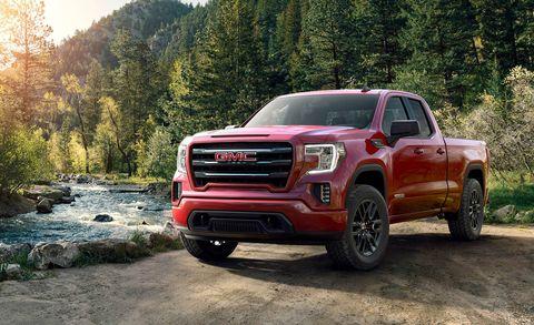 Land vehicle, Vehicle, Car, Pickup truck, Automotive tire, Truck, Tire, Automotive design, Gmc, Landscape,