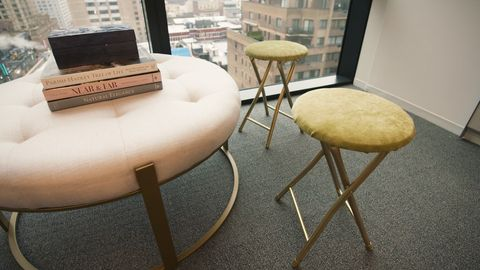Furniture, Chair, Bar stool, Table, Interior design, Room, Design, Floor, Stool, Material property,